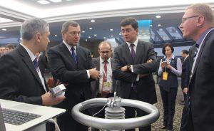 Презентация цифрового трансформатора 110 кВ на выставки RUGRIDS-ELECTRO 2016